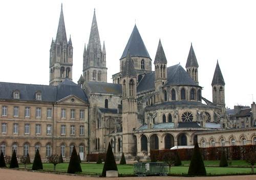 L'abbaye aux Hommes - Caen - XIe siècle.jpg