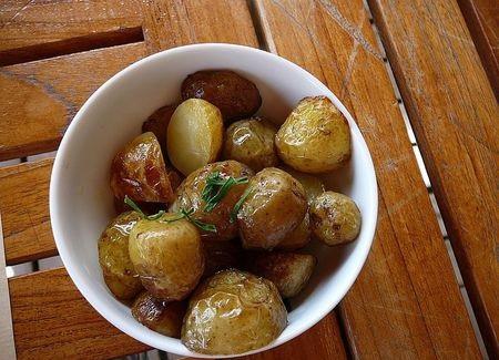 bonnotte,pomme de terre de noirmoutiers,barfleur,pommes de terre sautées au beurre