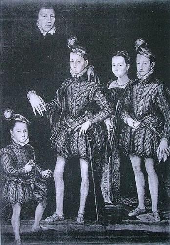 Catherine de Médicis et ses enfants.jpg