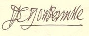 Signature de Gouberville.jpg