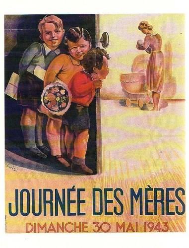Journée des mères - 1943.JPG