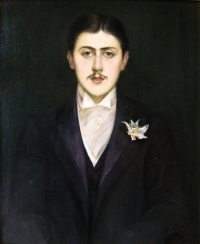 blanche,portrait de proust,portraitiste