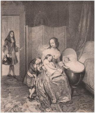 Mariage Louis XIV MADAME DE MAINTENON 3.jpg