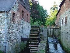 Moulin à eau - Braine le Château - XIIe siècle.jpg