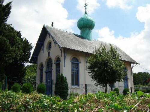 eglise orthodoxe de colombelles,saint serge de radonège  ège