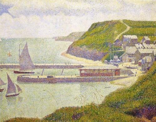 SEURAT Port en Bessin.JPG
